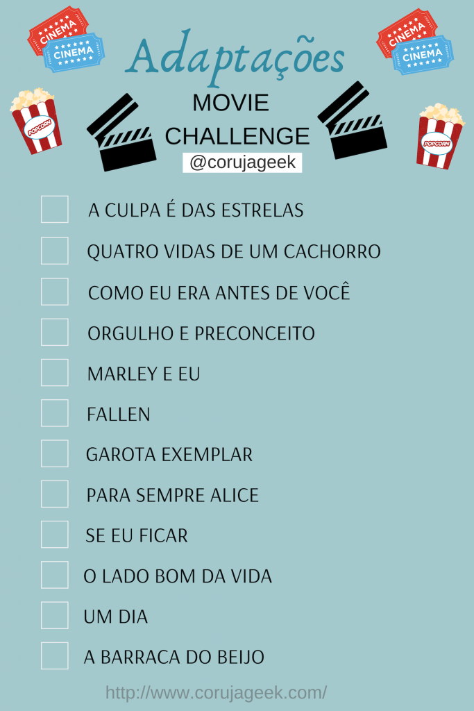 Adaptações Movie Challenge