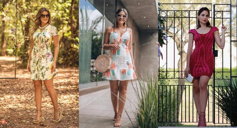 35a2bba07 Aproveite o verão com vestidos curtos Shafa - Coruja Geek